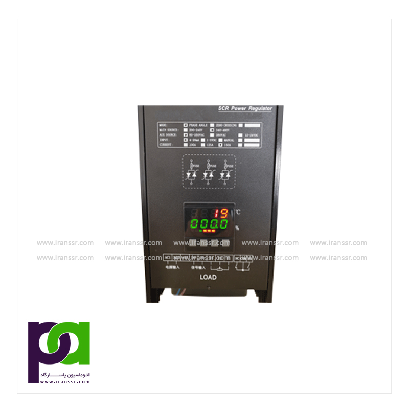 Advanced intelligent digital display three phase SCR Power regulator(TC-200S)