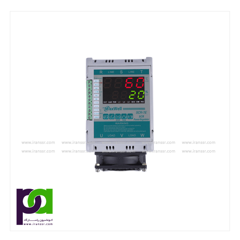 Multi Input Digital Display SCR Power Regulator