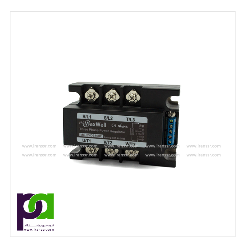 Input selectable high accuracy single phase SCR power regulator