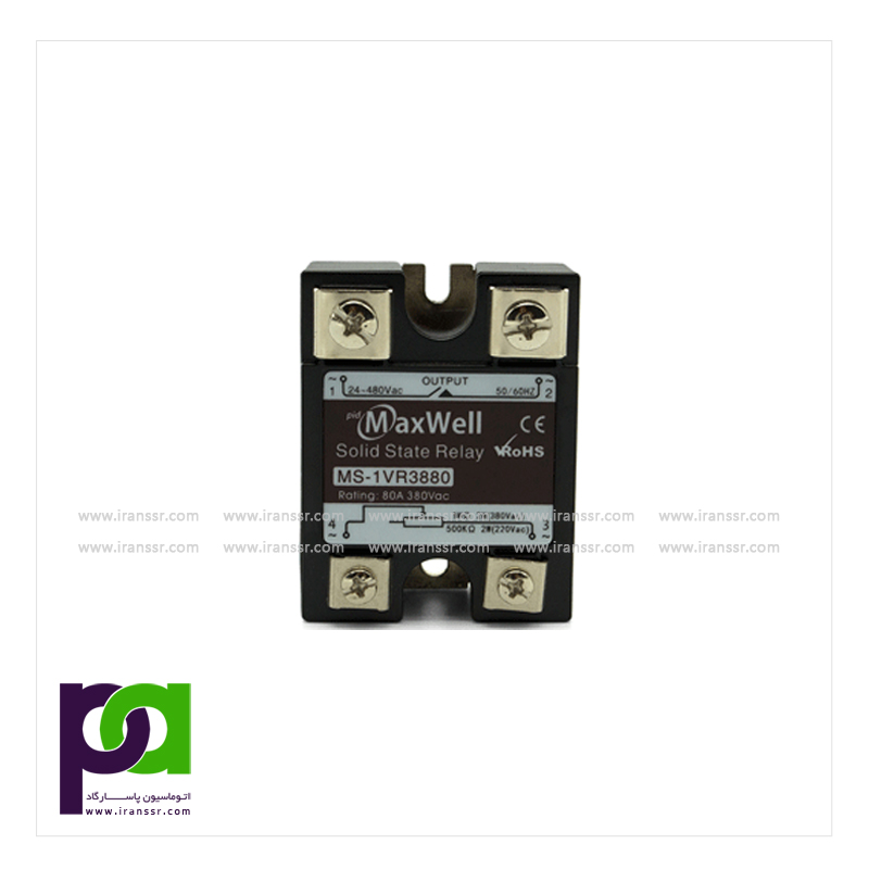 رله جامد Potentiometer Input Solid State Relay(MS-1VR38)