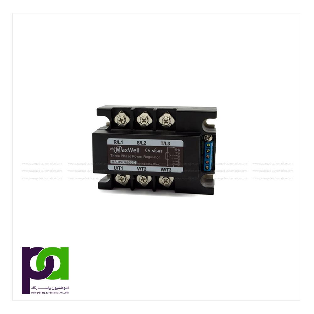 MS-3DA6650 - maxwell - رله سه فاز - رله اس اس ار - رله مکسول