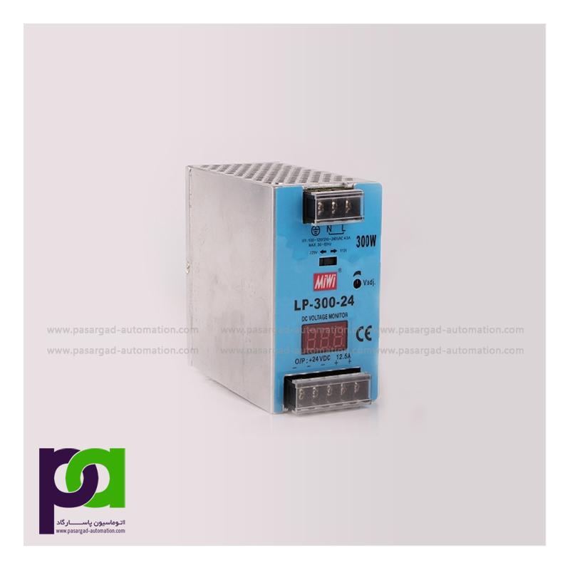 300W Output Voltage Display Din-rail Power Supply lp-300-24