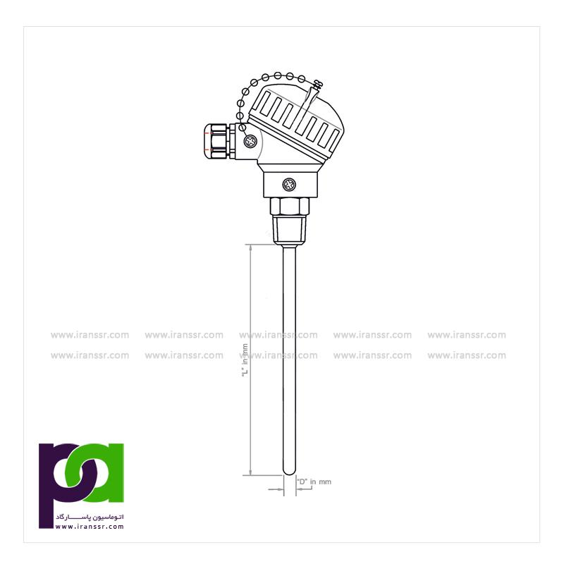 ترموکوپل با اتصال مکانیکی