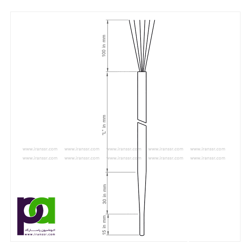 مدل MI5010 ترموکوپل داخلی - خرید ترموکوپل - فروش ترموکوپل