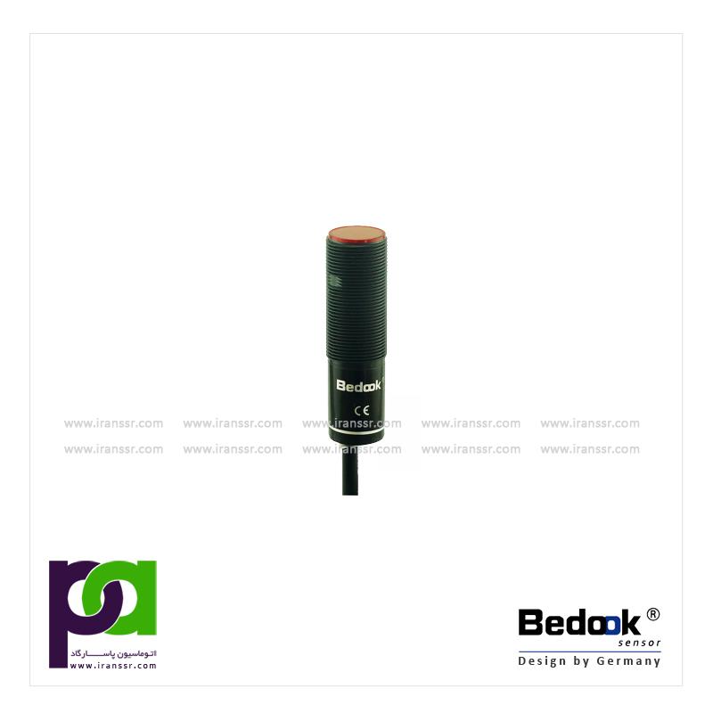 سنسور نوری قطر 18 - یکطرفه - بدنه پلاستیکی - bedook