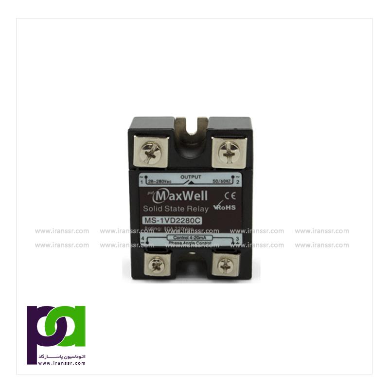 تنظیم کننده تکفاز Analong Input Single Phase SCR Power Regulator(MS-1VD22/38)